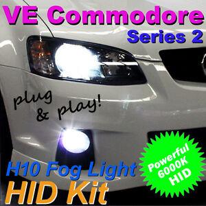 6000K Xenon HID Kit for Holden VE Commodore Series 2 II Fog Lights SV6 SS SSV