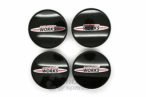 New BMW MINI One Cooper S JCW Alloy Wheel Centre Caps Works 01 -14