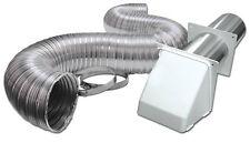 """Lambro 316W Flexible Dryer Vent Kit, 4"""" x 8'"""
