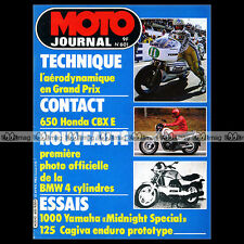 MOTO JOURNAL N°601 ★ YAMAHA XV 1000 SE MIDNIGHT SPECIAL ★ CAGIVA 125 WRX 1983
