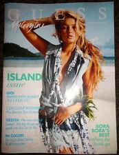 GUESS magazine 2013 Sandrah Hellberg Amber Heard Gigi Hadid fashion catalog ads