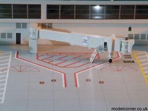 Gemini Jets 6 Pack Narrow Body Jet Bridges & Airport Adapters 1:400 GJARBRDG1