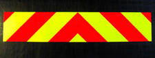 Self Adhesive Chevrons Reflective + Fluorescent 1000mm
