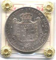 DUCATO PARMA 5 LIRE 1815 ARGENTO MARIA LUIGIA AUSTRIA