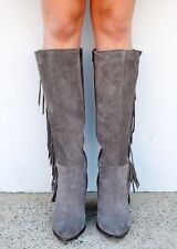 STEVE MADDEN WOMEN CACOS LONG BOOTS SIZE 8 Free Shipping !!