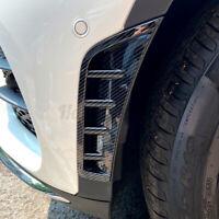 Pair Front Bumper Air Vent Splitter Spoiler Canard For Mercedes GLC X253 Class