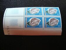 COTE D IVOIRE - timbre yvert et tellier n ° 328 x4 n** (coin date) (Z7) stamp