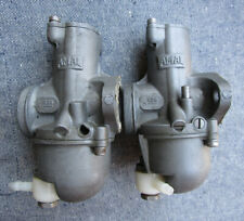 Amal Motorcycle Carburetor Set 626/27 626/7 Triumph Daytona T100R T100 500 68 On