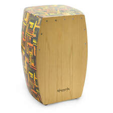 More details for world rhythm cajon, full size cajon box drum with natural wood playing surface