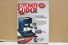 KITCHEN SLIDER Sliding Kitchen Appliance Caddy Counter Top (NEW) (#S6420)