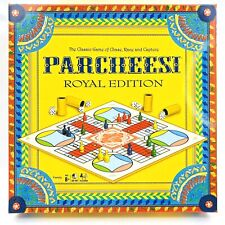 Winning Moves Parcheesi Royal Edition Board Game (6106) Squared Box Edition