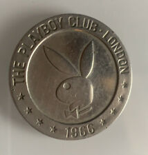 More details for vintage 1966 london, england playboy club gaming token
