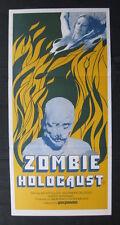 ZOMBIE HOLOCAUST '81 Orig Australian daybill movie poster Rare Horror Dr Butcher