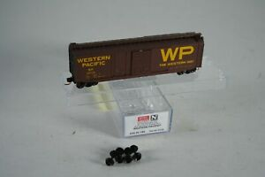 N Scale 033 00 180 Micro MTL Trains Western Pacific WP 50' Box Car # 35729