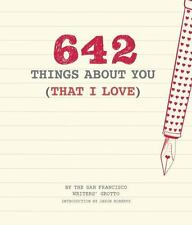 642 Things About You That I Love Diary Personalized Gift Book