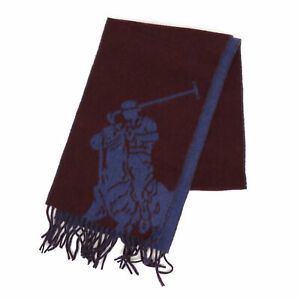 Polo Ralph Lauren Big Pony Giant Pony Wool 2-face Scarf -- 3 colors --
