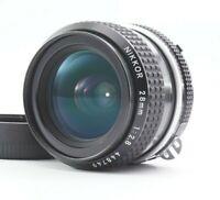 NEAR MINT Nikon Ai NIKKOR 28mm F/2.8 MF Wide Angle Lens from JAPAN