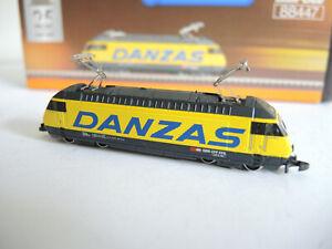 "Märklin mini- club 88447 Schweizer Elektrolokomotive Reihe 460 SBB ""Danzas"""