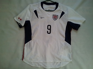 VINTAGE MADE IN USA NIKE DRI FIT USA WOMEN NATIONAL TEAM #9 HAMM JERSEY SIZE M