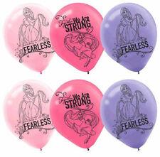"Disney Tangled Rapunzel Latex Balloons Party Supplies Decorations 12"" (6pcs)"
