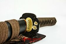 SALE Handmade Clay Tempered HIGH QUALITY  L6 STEEL BLADE JAPANESE KATANA SWORD