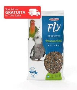 Fly Parrocchetti 4 kg Mangime Mix Semi Inseparabili e Calopsiti Premium