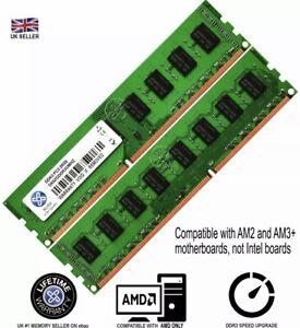 XUM 4 8gb Memory RAM 4 AMD Desktop PC3 10600 DDR3 1333MHz 240 Pin Non-ECC Lot