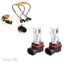 2X H11 LED Projector Fog Light 30W No Error For BMW E71 X6 E70 X5 E83 F25 X3