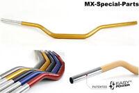 MANILLAR 28,6mm ORO SUZUKI RM 85 # ligero -Estable -gleitschale-Aluminio-