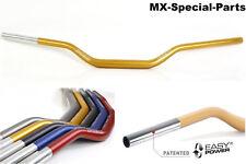MANILLAR 28,6mm ORO # KTM SX 50 # ligero-Estable-gleitschale-Aluminio - 118/42