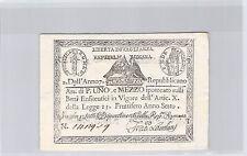 ITALIE 1 1/2 PAOLI AN 7 (1798) N° 1412919 PICK S 534