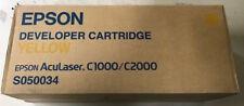 orig.Epson S050034 YELLOW Epson 0034 f. Epson Aculaser für C1000 C2000 # R640-A2