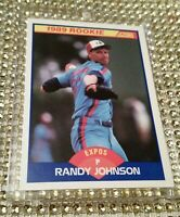 1989 Score Randy Johnson RC #645 NM+1-OWNER Expos Seattle Arizona