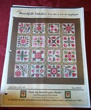 "From my heart to your hands ""Heartfelt Stitches: For the Love of Applique"""