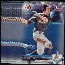 (10) 2017 Bowman Draft BRIAN MILLER Lot Marlins #BD-45 QTY Available