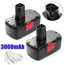 2x 19.2V 3000mAh DieHard Compact Ni-CD Battery For Craftsman Cordless Drill USA