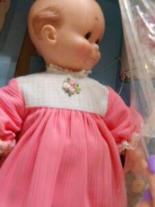 Vintage Doll Cameo Kewpie Original Box Pink Dress NOS