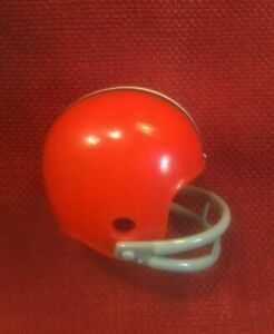Riddell pocket pro football helmet NFL Cleveland Browns two-bar  facemask