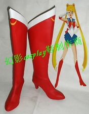 Sailor Moon Sailormoon Serena Cosplay Costume Boots Boot Shoes Shoe