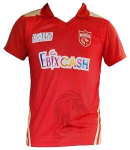 IPL Punjab Kings 2021 Jersey / Shirt, T20, Cricket India XI, 11, VIVO