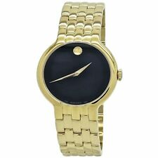 Movado 0606934 Men's Veturi Black Quartz Watch