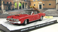 Scale model car 1:43 Mercury Cougar (red), On Her Majesty's Secret