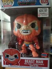 """Funko Pop! Masters of the Universe 10"""" Beast Man #1039 2020 Nycc Fall Convention"""