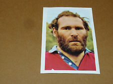 N°43 ALAIN ESTEVE AS BEZIERS RECUPERATION AGEDUCATIFS RUGBY 1971-1972 PANINI