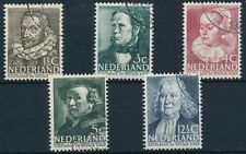 Nederland 1938 Zomerzegels NVPH 305-09