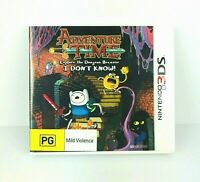Adventure Time Explore the Dungeon I Don't Know Nintendo 3DS Complete PAL