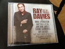 Ray Davies : See My Friends 2010 CD . JON BON JOVI , PALOMA FAITH ( KINKS HITS )