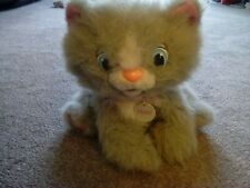 "Animagic Scruffies ""MOLLY "" My Cute & Curious KITTEN Interactive CAT Toy"