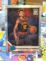 2019-20 Donruss Optic De'Andre Hunter SILVER HOLO PRIZM RC RATED ROOKIE ATL