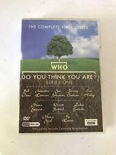 Who Do You Think You Are? Complete Series 1 (DVD) 10 Episodes 3 Discs 9 Hours